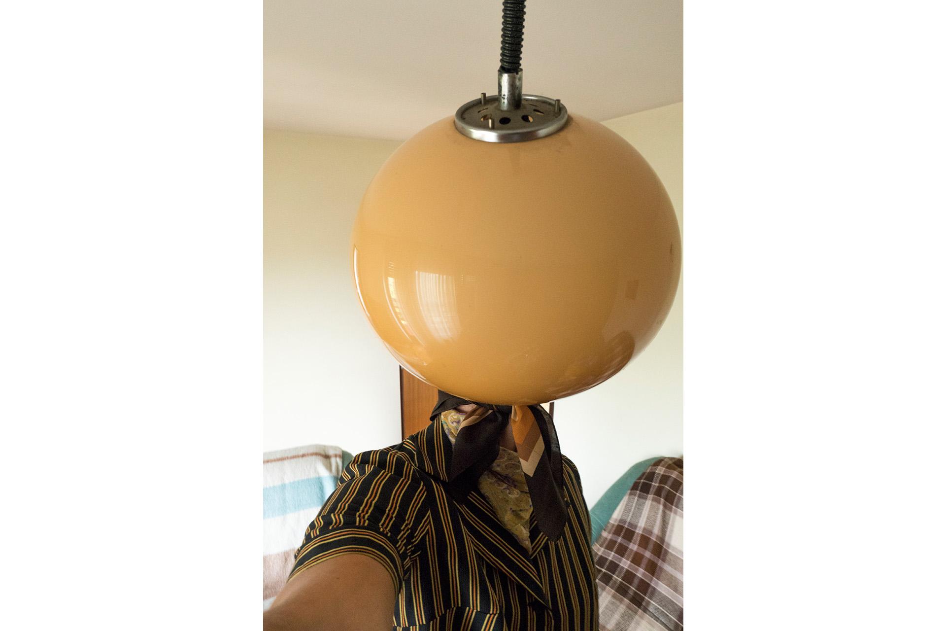 This was her modern chandelier
